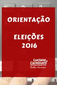 ORIENTAÇÃO ELEIÇÕES 2016 web final